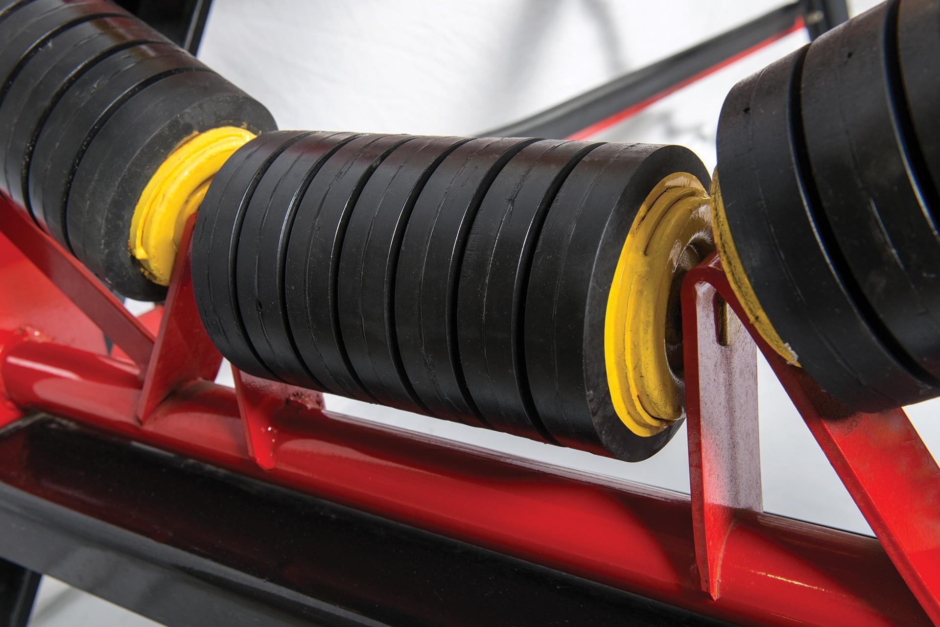 quarry conveyor roller