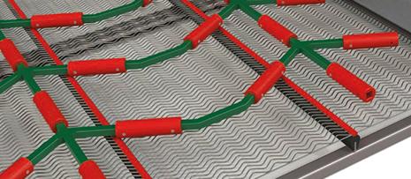 Polyurethane declogging rods