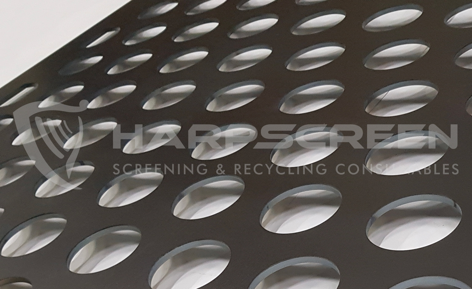 Round holes perforated metal