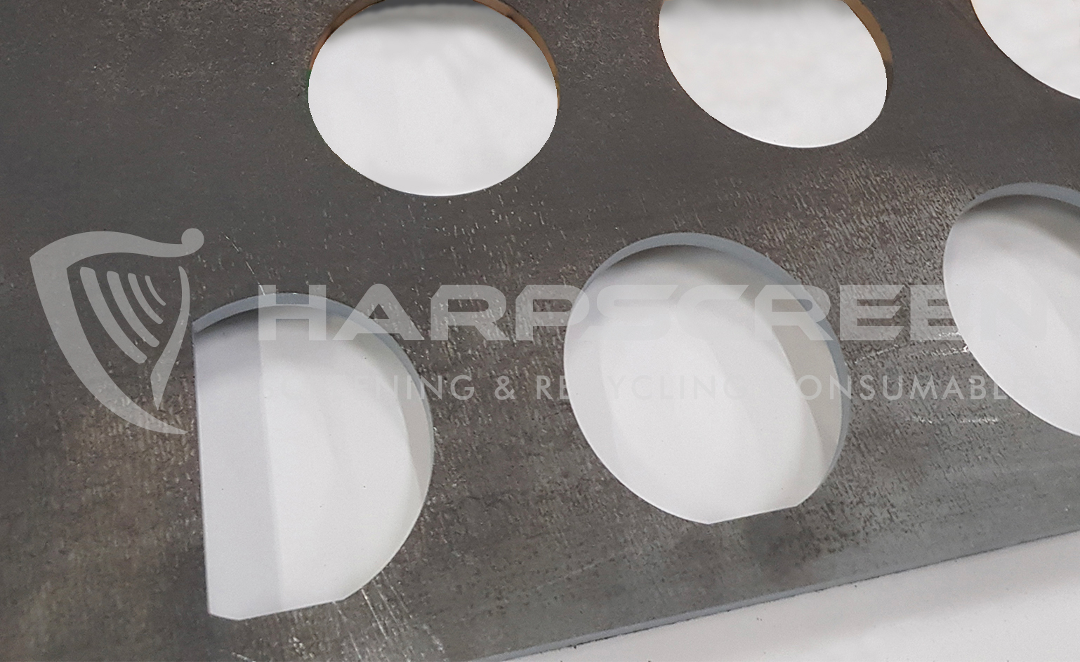Round holes perforated plate