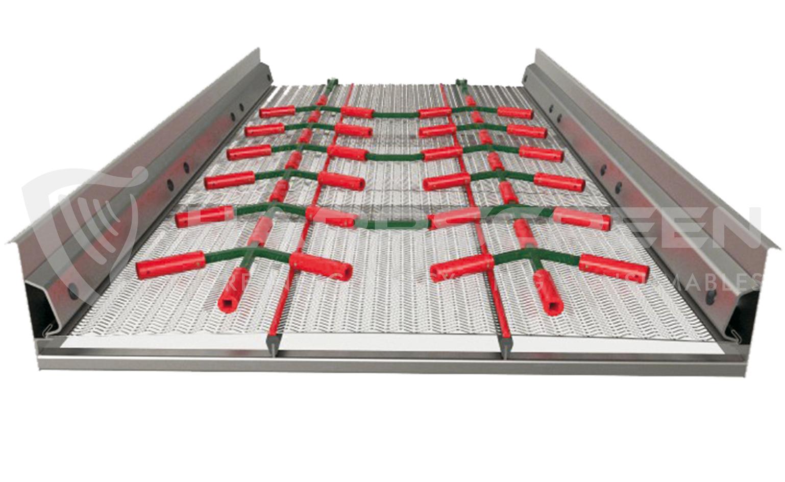 Declogging rods polyurethane