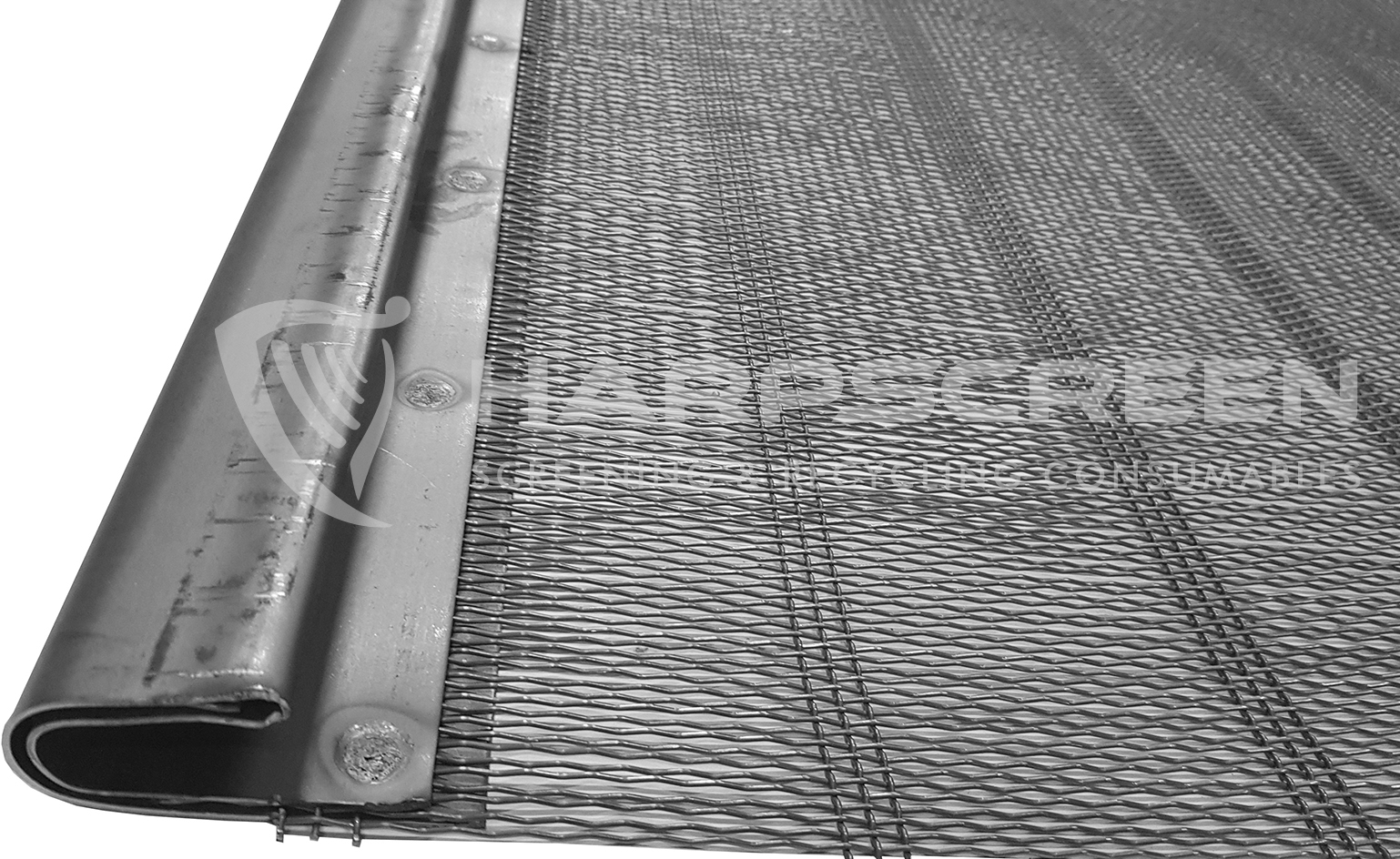 Slotted elongated mesh